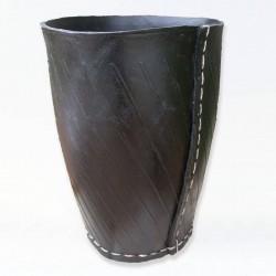 Poubelle de bain - Noir d'éco - 250x320mm