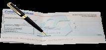 Moyen de paiement chèque