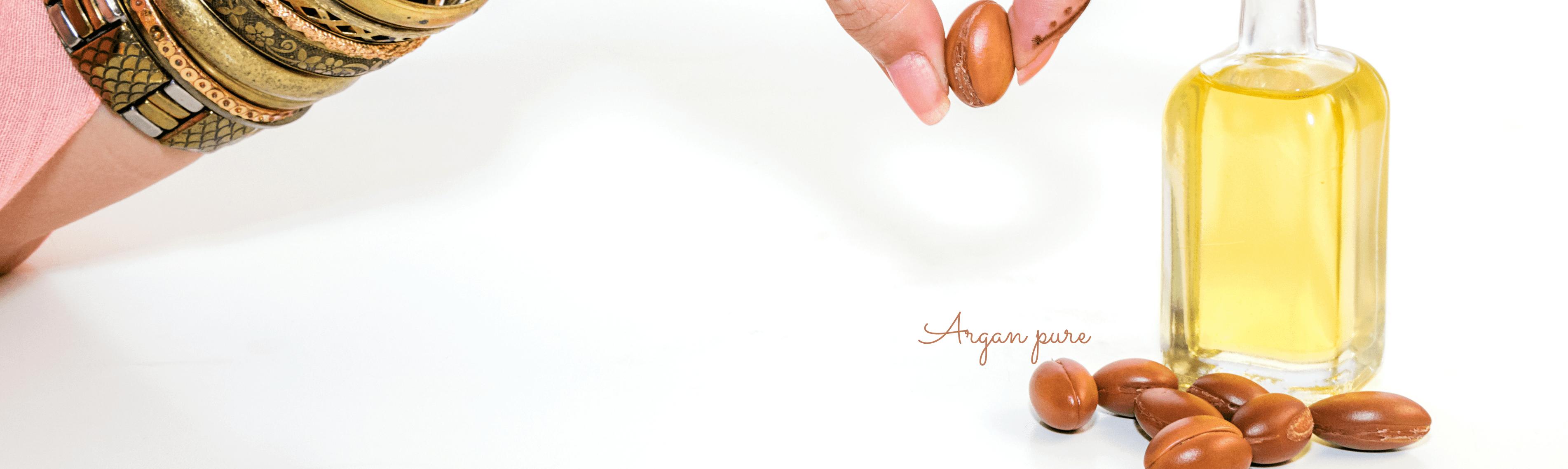 Découvrez l'huile d'argan pure ou enrichie en huile essentielle ou végétale...